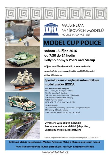 MODEL CUP POLICE